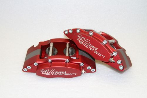 Williams Motorsport Front 4 Pot Calliper Kit (All Models)